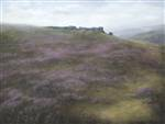 cow and calf ilkley painting 2